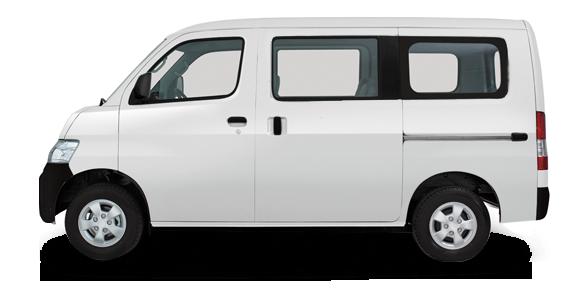 gran max minibus icy white