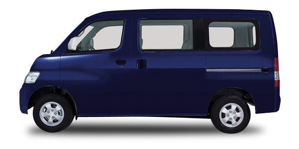 gran max minibus sonic blue