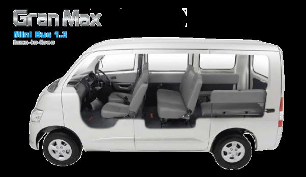 gran max minibus 13 face to face