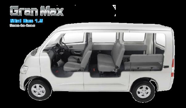 gran max minibus 15 face to face